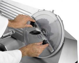 Автоматический слайсер-ломтерезка Rheninghaus Super Start Auto SBR устройство быстрого снятия ножа 2