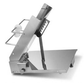 Наклонный бункер для рыбного слайсера Prima 250 для рыбы с изменяемым углом нарезки