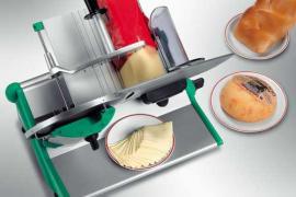 Полуавтоматический слайсер Rheninghaus Prima 250 для нарезки сыра