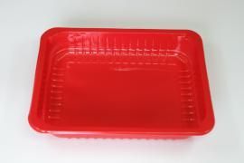 Лоток под запайку красный 227×178×25 мм
