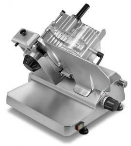 Полуавтоматический слайсер-ломтерезка Rheninghaus Mondial 300 сзади