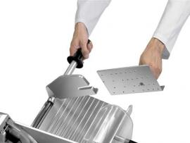 Полуавтоматический слайсер-ломтерезка Rheninghaus Mondial 350 каретка
