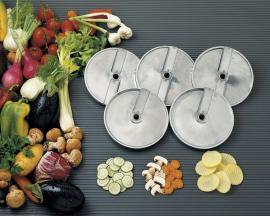Рифленые ножи овощерезки серии E/O с 1 или 2 лезвиями
