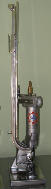 Клипсатор ручной пневматический односкрепочный ARI MKM 35100