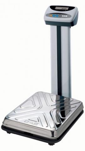 Весы электронные напольные CAS DL-200 рифлёная поверхность