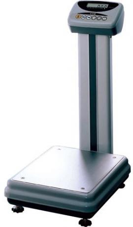 Весы электронные напольные CAS DL-100