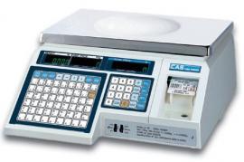 Весы с этикеткой CAS LP-30