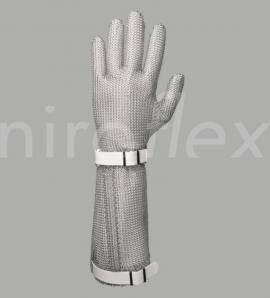Кольчужная перчатка Niroflex easyfit с отворотом 190 мм пищевое оборудование
