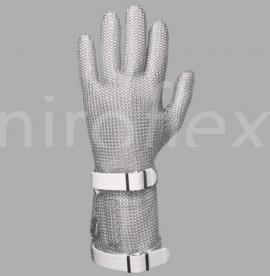 Кольчужная перчатка Niroflex easyfit с отворотом 75 мм пищевое оборудование