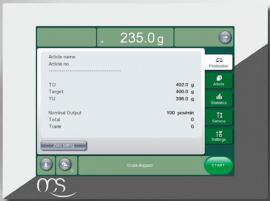 Динамические весы (Чеквейер) EC-E Экран