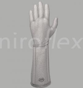 Кольчужная перчатка Niroflex Fix с отворотом 190 мм