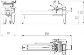 Упаковочная машина YELLOW PLUS (флоупак)