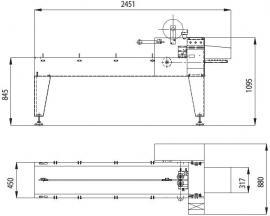 Упаковочная машина YELLOW / S 07 (флоупак)