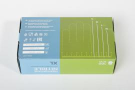 Нитриловые перчатки ЭМУ-XL