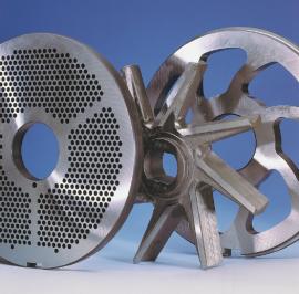 Волчок-мясорубка GEA UniGrind 200 режущий инструмент