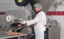 Вакуумный шприц ODM 2000 производство колбасок