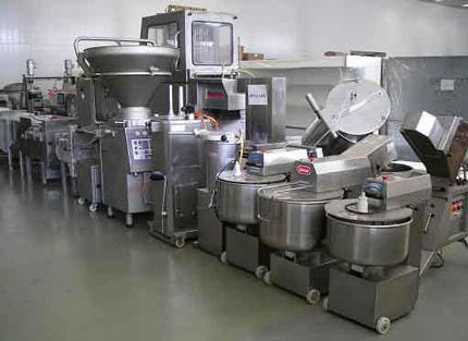 Более 160 единиц пищевого технологического оборудования поступили на склад компании
